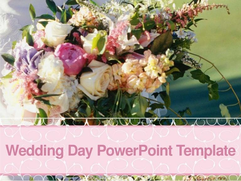 free wedding powerpoint template