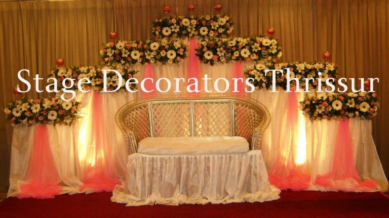 Wedding stage decorators thrissur junglespirit Images