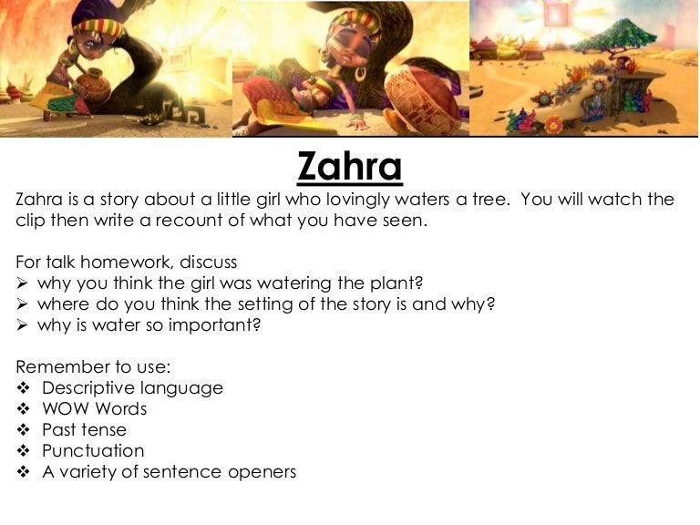 Week 11 recount zahra
