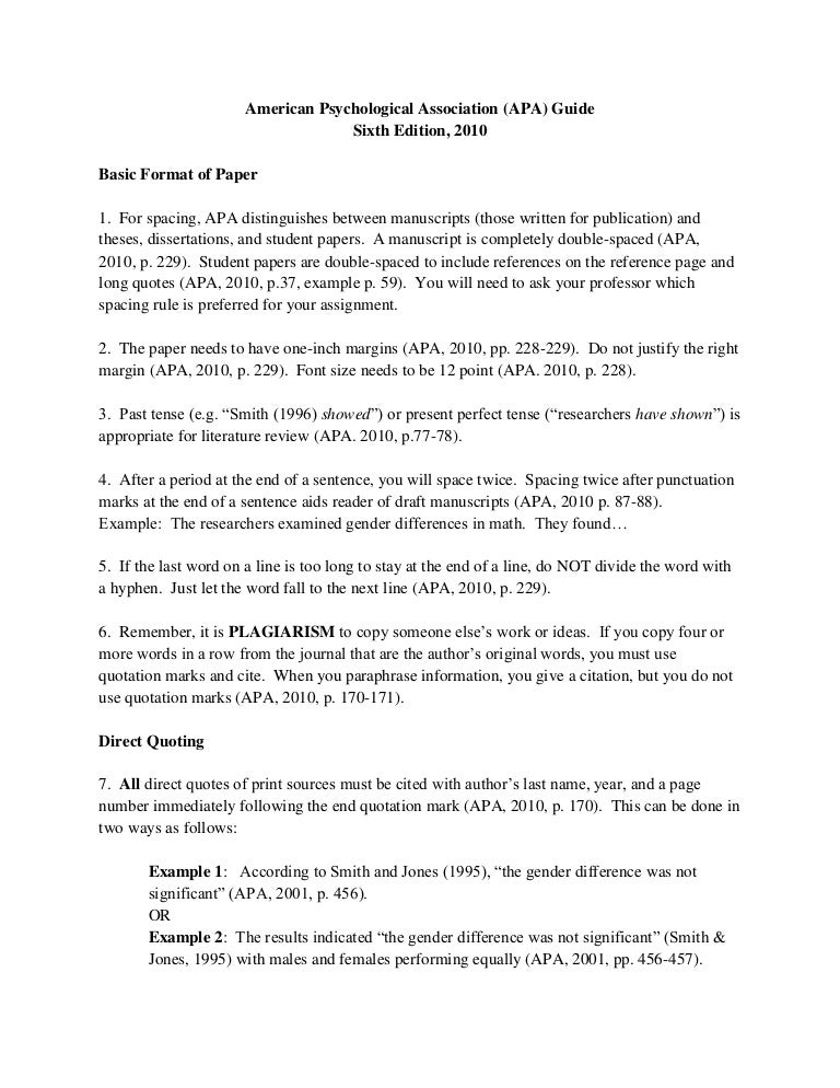 reference page of an apa research paper Apa (american psychological association) style is most commonly used to cite sources within the social sciences this resource, revised according to the 6 th edition, second printing of the apa manual, offers examples for the general format of apa research papers, in-text citations, endnotes/footnotes, and the reference page.