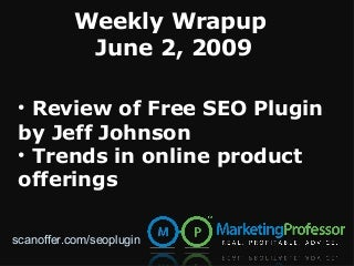 Review of SEO Plugin for WordPress and Trends in Online Product Offerings