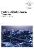 WEF Report: Fostering effective energy transition 2019