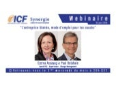 """ICF Synergie : """"L'entreprise libérée, mode d'emploi pour les coachs"""" de Czerna Assayag et Paul Delahaie - SLIDEs"""
