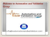 Automation and Validation Services