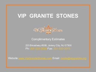 welcome to vip granite stones