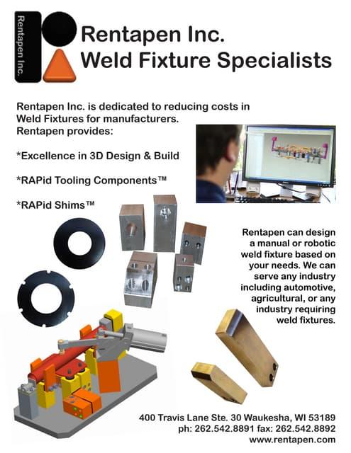 Weld Fixture Specialists Flyer