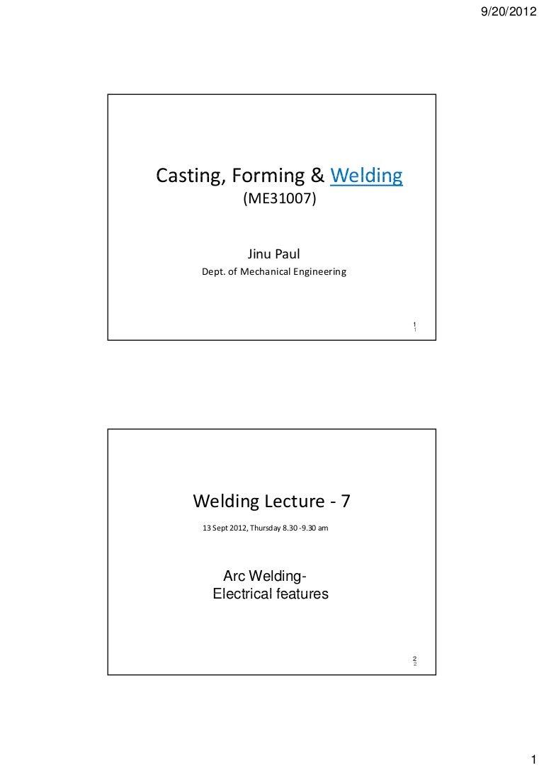 Welding Lectures 7 8 Resistance Block Diagram