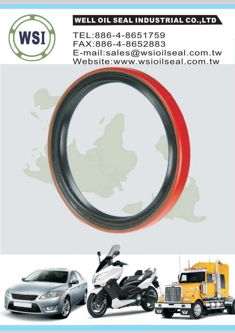 Well oil seal catalog
