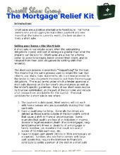 Wendy shaw   short sale package