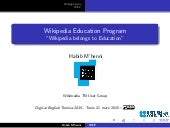 Wikipedia Education Program #ELTDigital