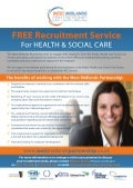 West Midlands Partnership - FREE Recruitment Service for Health and Social Care