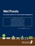 Underground Wet Ponds for Stormwater Management in Wisconsin