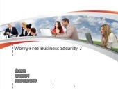 Trend Micro - Worry-Free Business Security 7