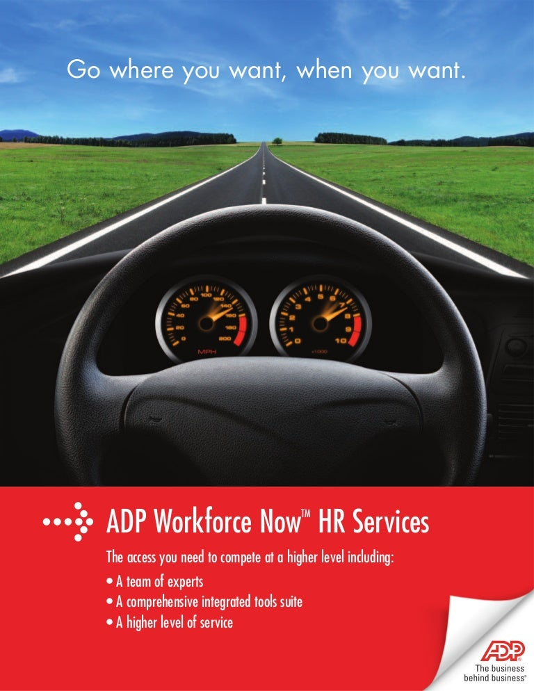 adp s new workforce now solution