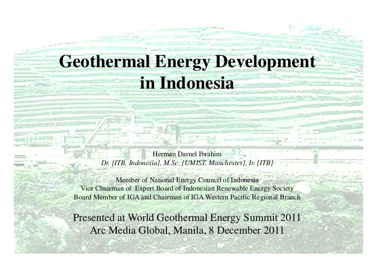Wges geothermal development in indonesia 2011 arc media global sciox Gallery