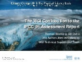 Fifth Assessment Report - Working Group I