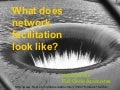 What does network facilitation look like?