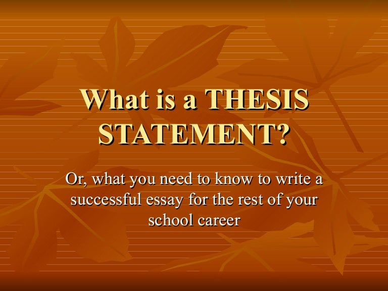 For profit colleges thesis statement