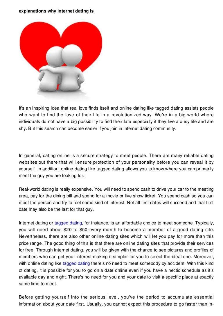 Online dating interest level