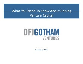 Venture capital research paper