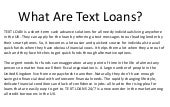 Text Loans – Get Cash In 1 Hour With Direct Payday Leander