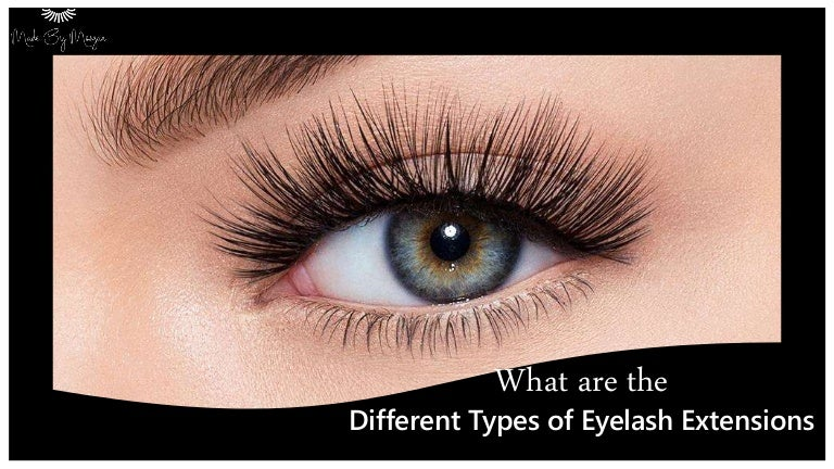 What are the Different Types of Eyelash Extensions