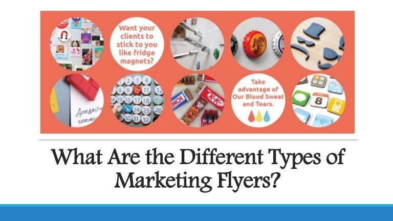 What Are the Different Types of Marketing Flyers?