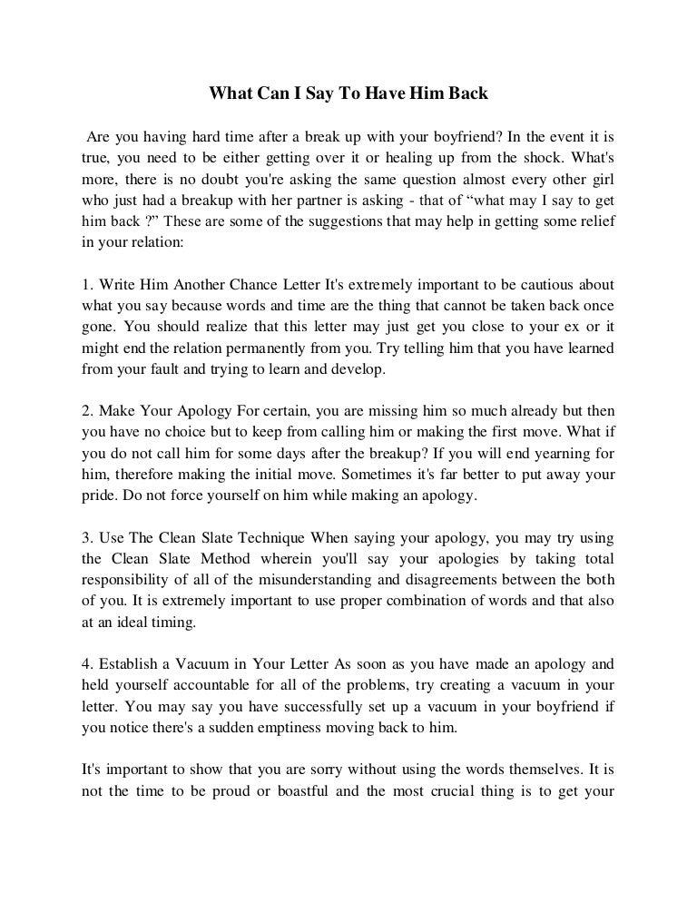 Letter To Ex Boyfriend To Get Him Back Erkalnathandedecker