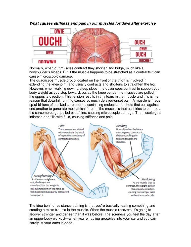how to know if its muscle pain