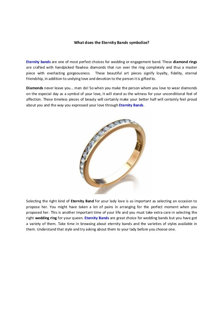 What does the eternity bands symbolize biocorpaavc Images