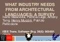 What Industry Needs from Architectural Languages