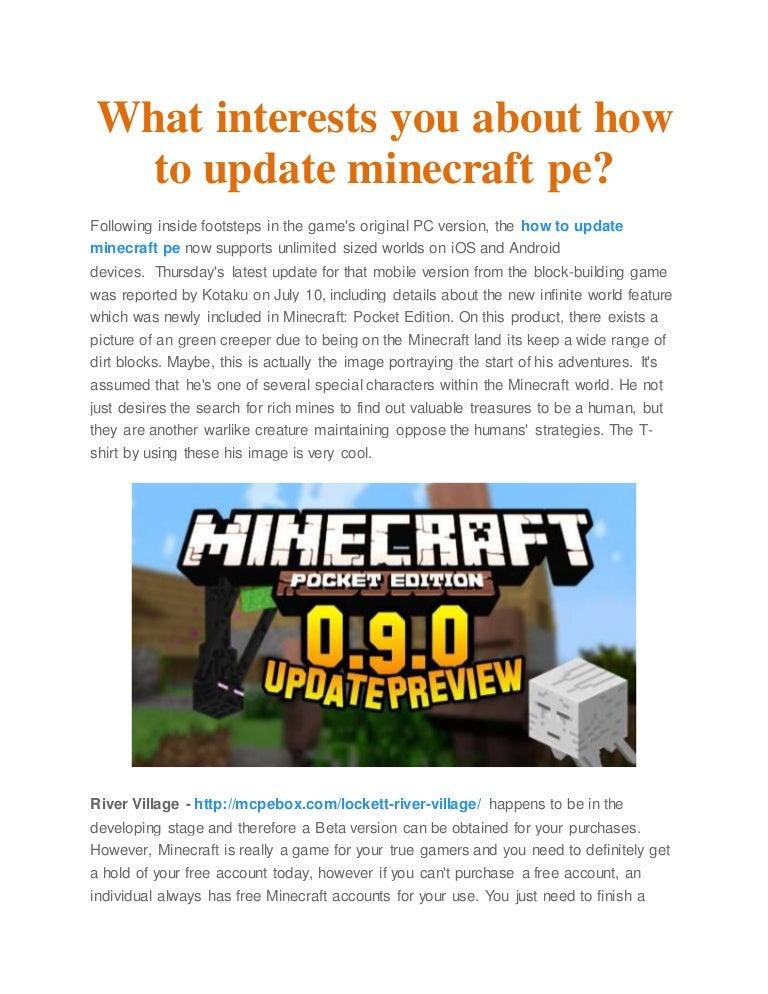Minecraft Account Free Pe - Aqeel George