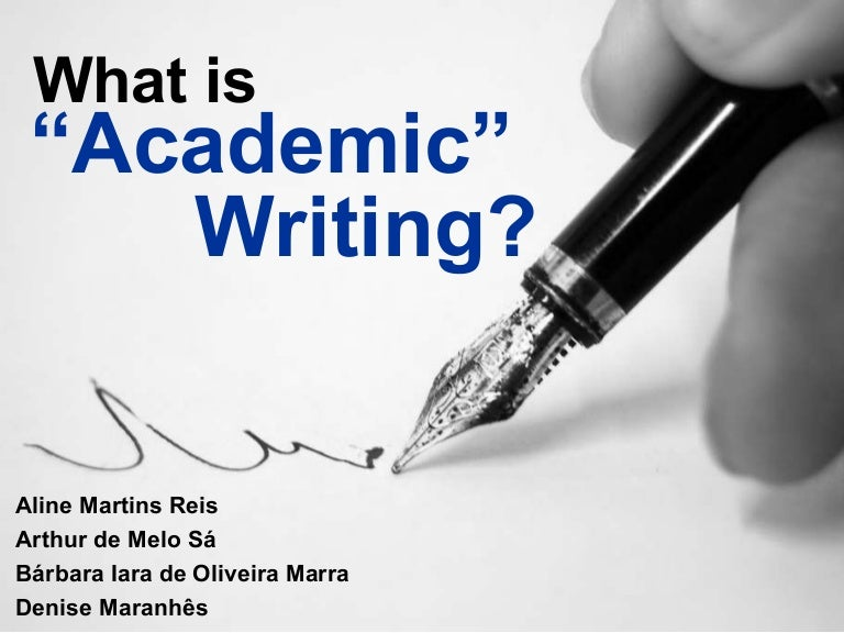 Image result for academic writing features
