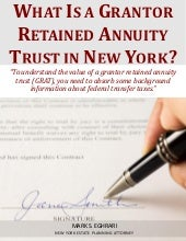 What Is a Grantor Retained Annuity Trust in New York
