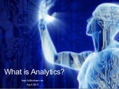 What is Analytics?