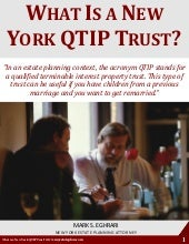What Is a New York QTIP Trust