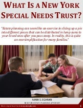 What Is a New York Special Needs Trust
