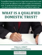 What Is a Qualified Domestic Trust?