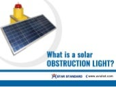 What is a solar obstruction light