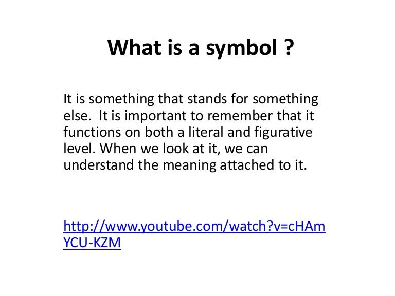 What Is A Symbol