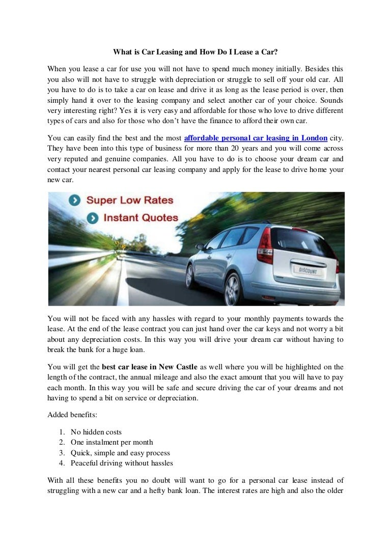 What is car leasing 42