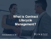 What is Contract Lifecycle Management?