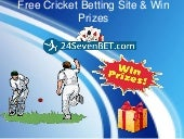 Free & Paid Online Cricket Betting in India