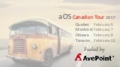 What is dynamics 365? - aOS Canadian tour (Toronto)