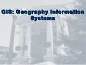 What is Geography Information Systems (GIS)