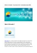 What is GoFounders - Easy Success For all