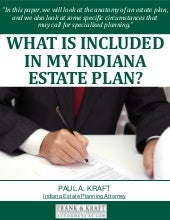 What Is Included In My Indiana Estate Plan