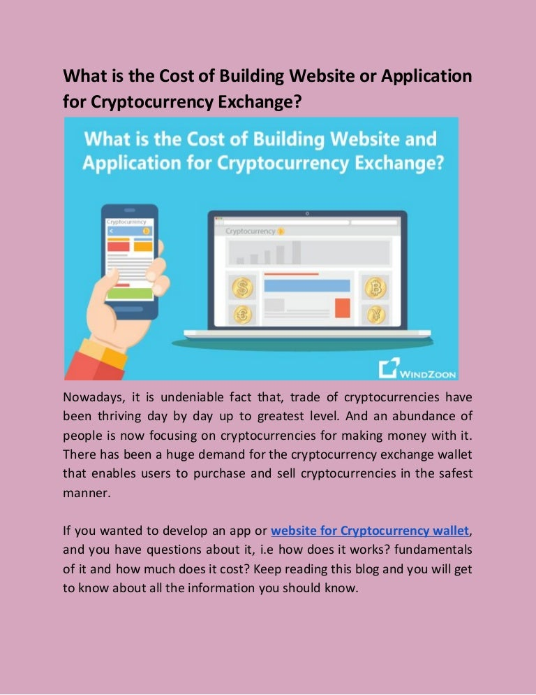 how to create a cryptocurrency exchange website