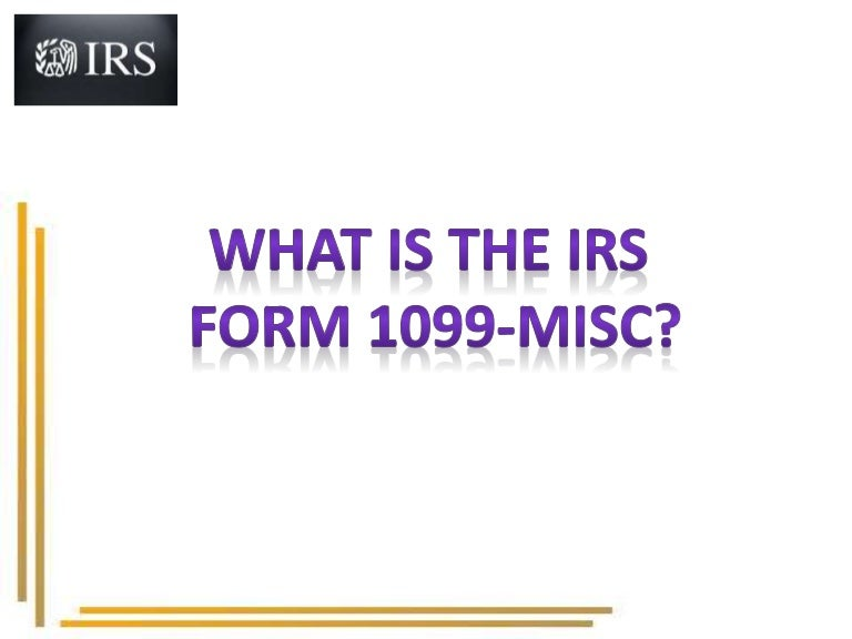 IRS Tax Form 1099 Misc for 2015 – 2016 | Form 1099