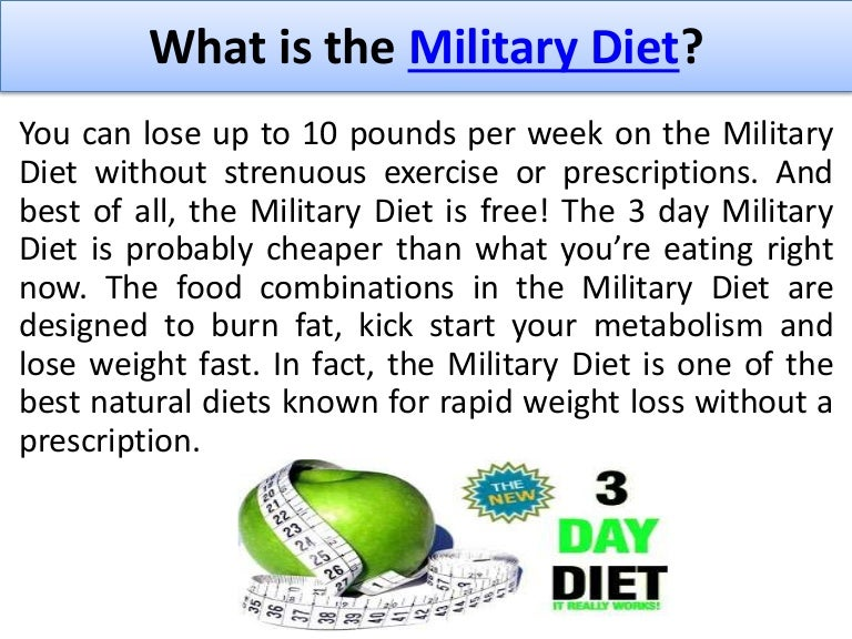 reviews on 3 day military diet